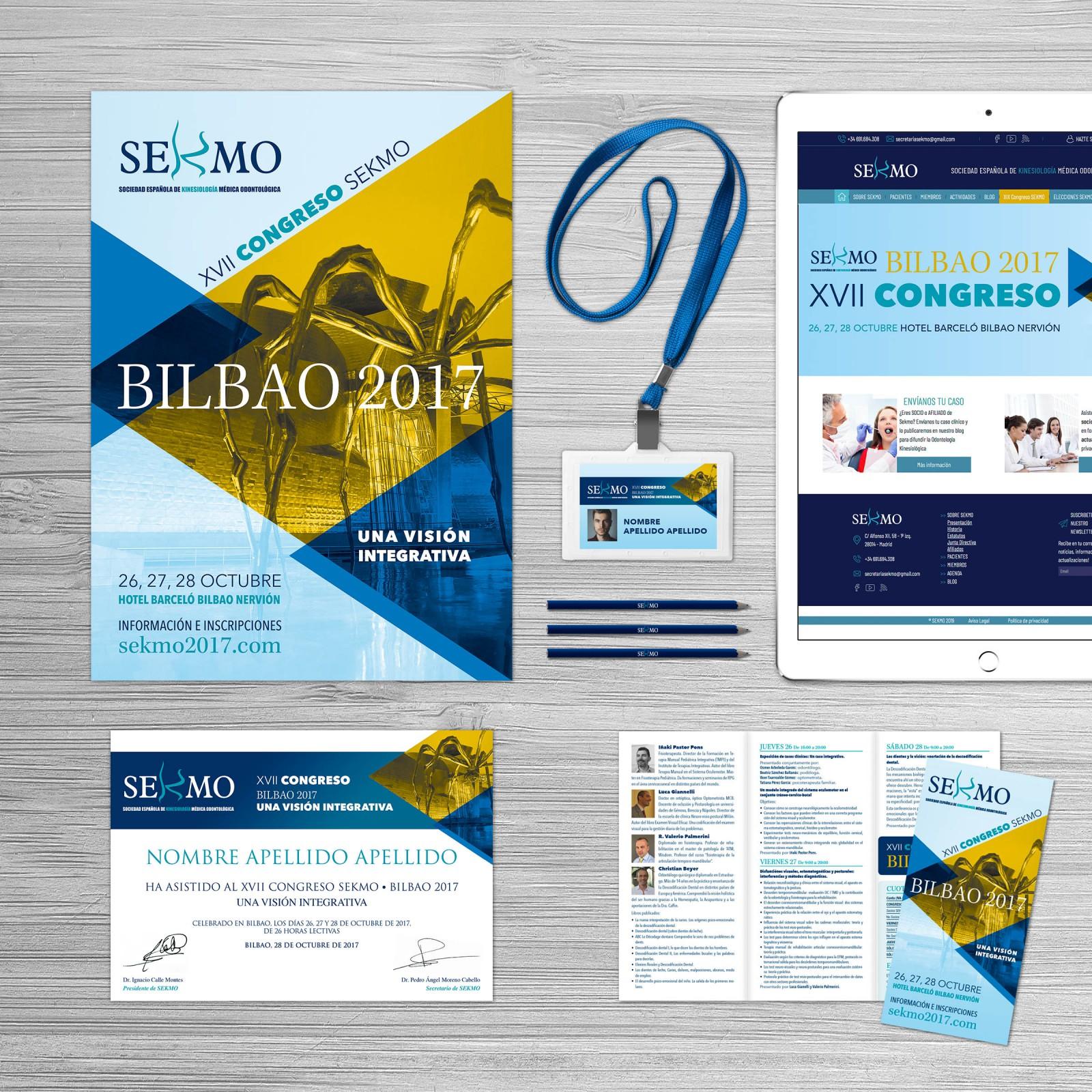 Congreso SEKMO Bilbao 2017 Diseño Publicidad Marketing Web Dominio Hosting Redes Sociales Evento