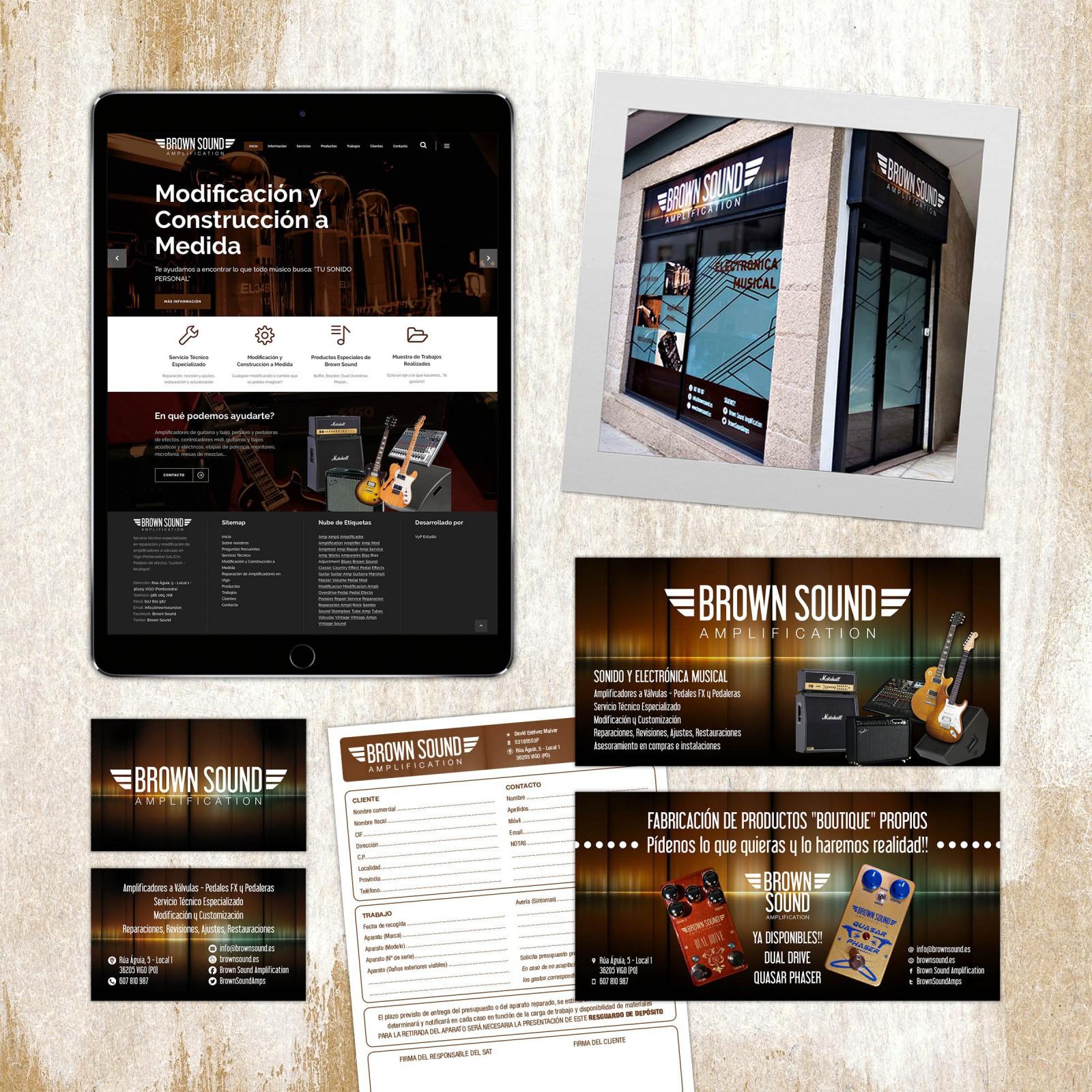 Brown Sound Diseño Publicidad Marketing Web Dominio Hosting Redes Sociales