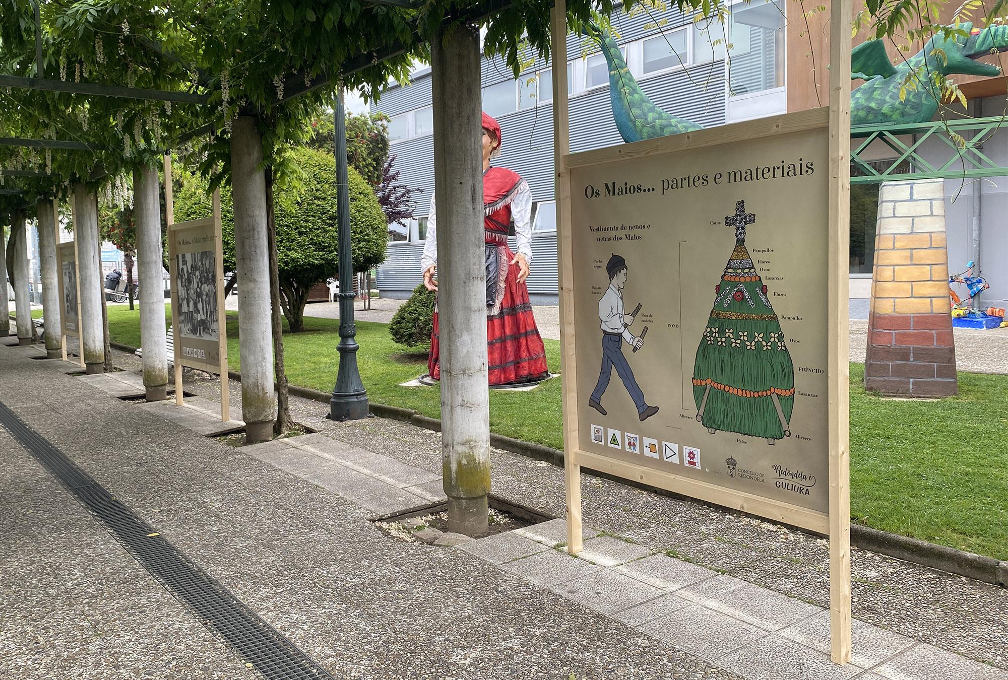 Exposiciones Cultura Redondela Pontevedra Diseño Exposición Os Maios Redondela 2021